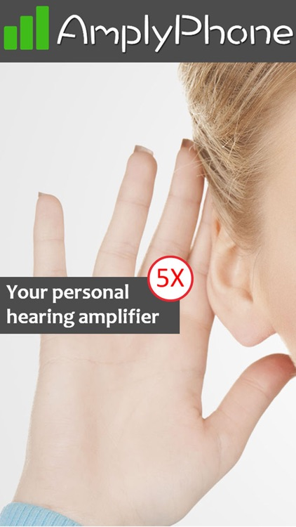 AmplyPhone - Personal hearing amplifier