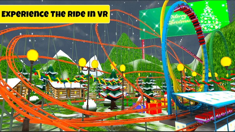 VR Roller Coaster: Real Ride Experience