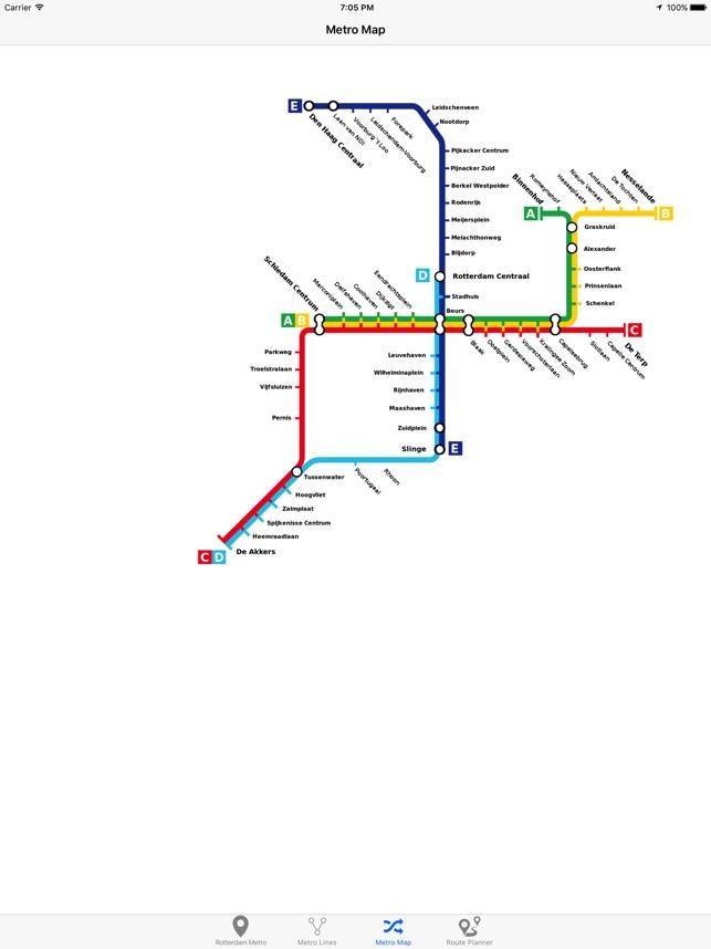 Rotterdam Metro on the App Store