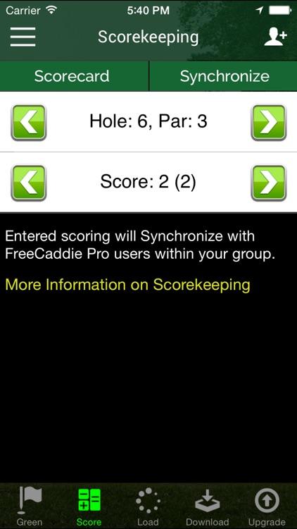 Free Golf GPS  - FreeCaddie screenshot-3