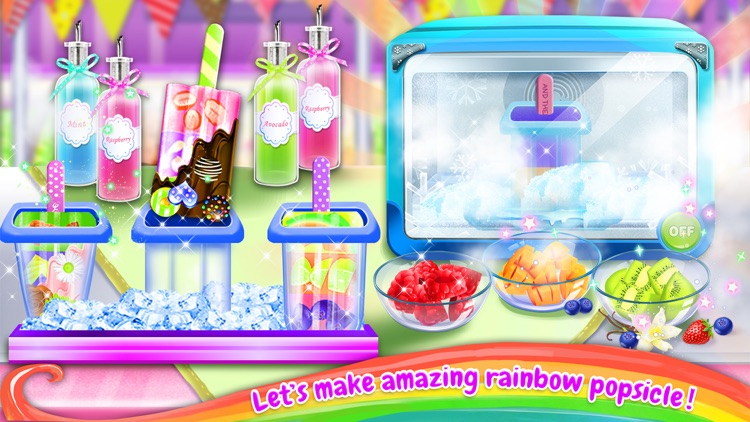 Summer Rainbow Frozen Foods Maker!