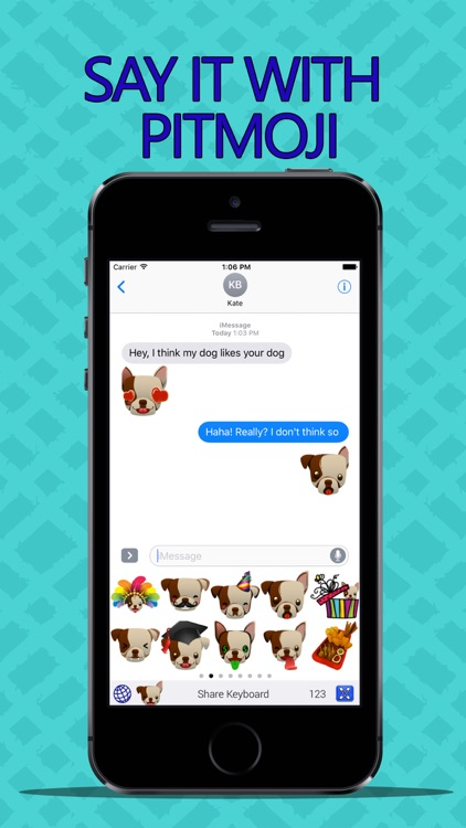 PitMoji - Pit Bull Emoji & Stickers! screenshot-1