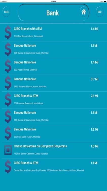 Montreal QC Canada Offline City Maps Navigation screenshot-3