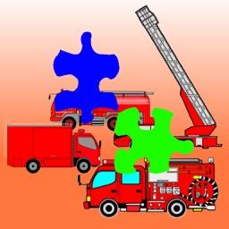 Fire Truck Jigsaw Puzzles