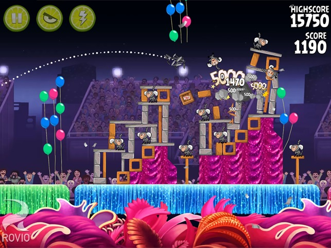 Angry Birds Rio HD Screenshot