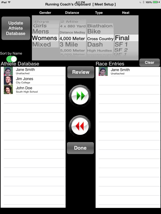 Running Coach's Clipboard screenshot-3