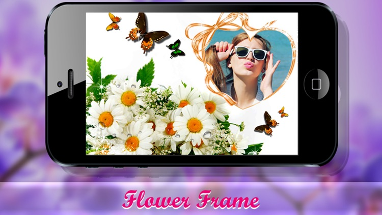 Flower frames – Photo Frames, Pic effects editor screenshot-3