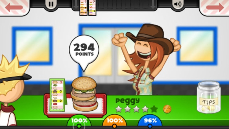 Papa's Burgeria To Go! screenshot-4