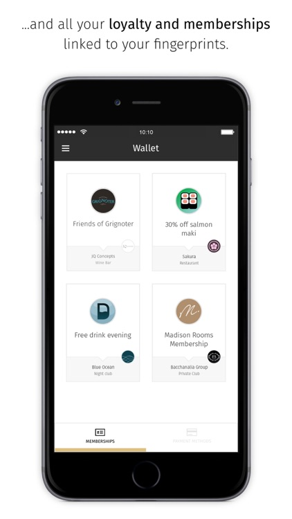 Touché - Manage your wallet screenshot-3