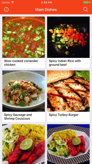Indian recipes food recipes cookbook meal plans en app store capturas de pantalla forumfinder Images