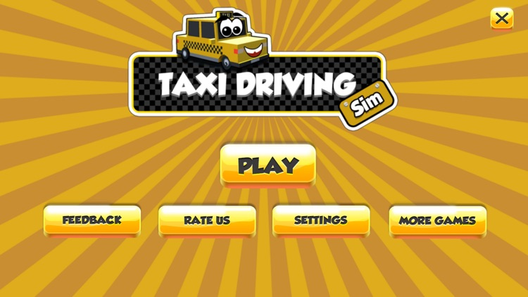 Taxi Driver Sim 3D screenshot-3