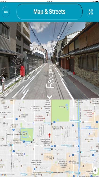 Kyoto Japan Offline City Maps Navigation & Touism screenshot-4