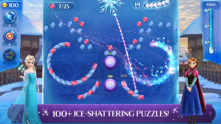 Frozen Free Fall: Icy Shot screenshot-0