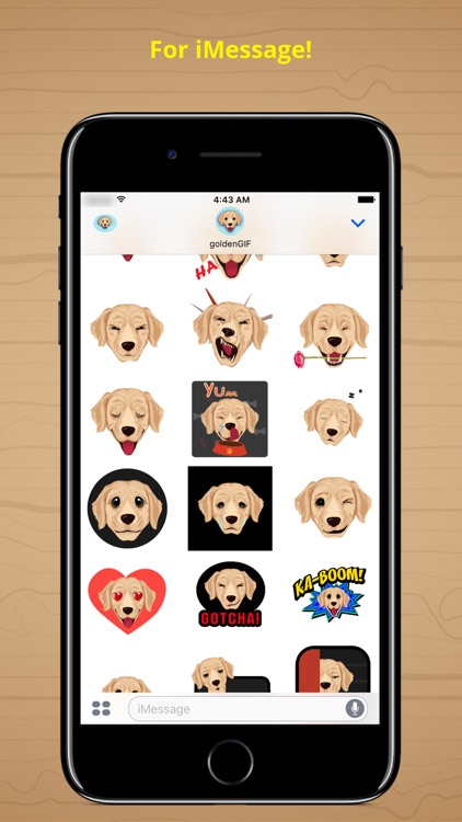 goldenGIF - Animated GIF Golden Retriever Emoji screenshot-3