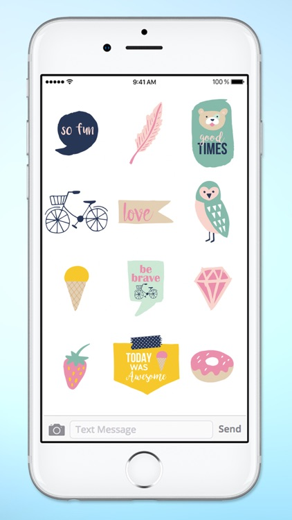 Hello I Love You Sticker Pack screenshot-3