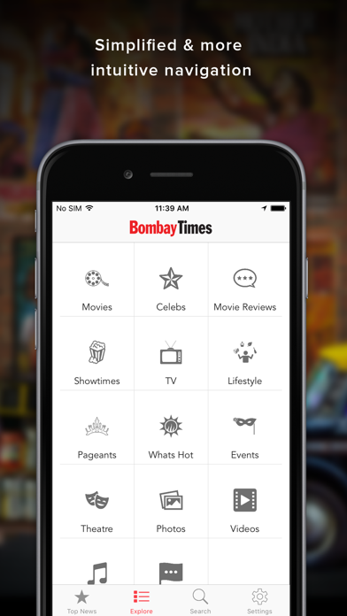 Bombay Times - Bollywood News Screenshot