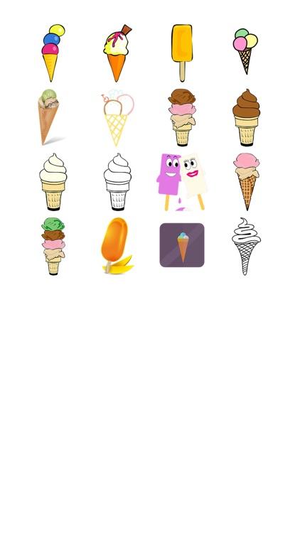 Ice Cream Eight Sticker Pack