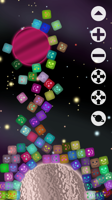 Jelly Cubes - An Outer Space Adventure screenshot two