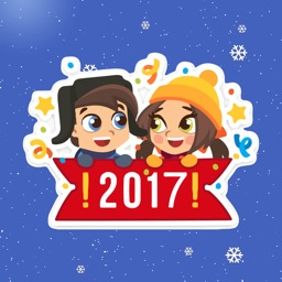 Romantic Christmas Couple Stickers Pack - iMessage