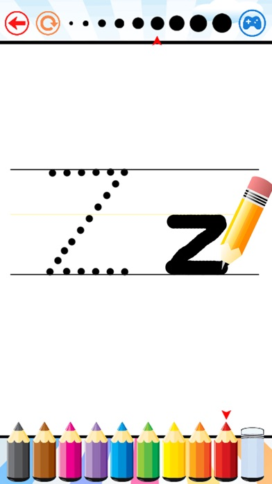 Write Letters ABC and Numbers for PreschoolersScreenshot of 3
