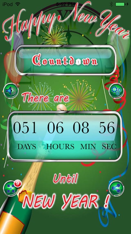 Happy New Year Countdown Begins Pro screenshot-2