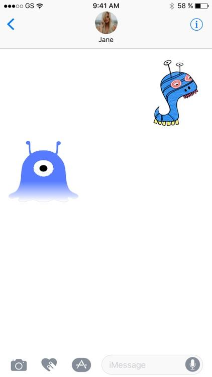 Monster Two Sticker Pack