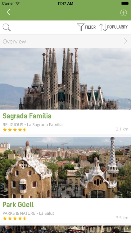 Barcelona Travel Guide (with Offline Maps) screenshot-3