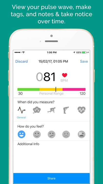 Heart Rate Monitor & Instant Pulse Rate screenshot-3