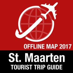 St. Maarten Tourist Guide + Offline Map