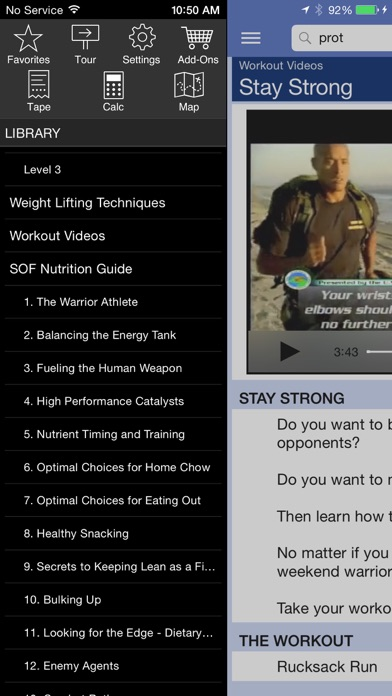 Navy Seal Fitness review screenshots