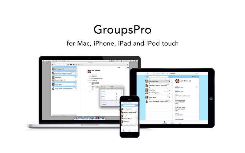 Screenshot #5 for GroupsPro