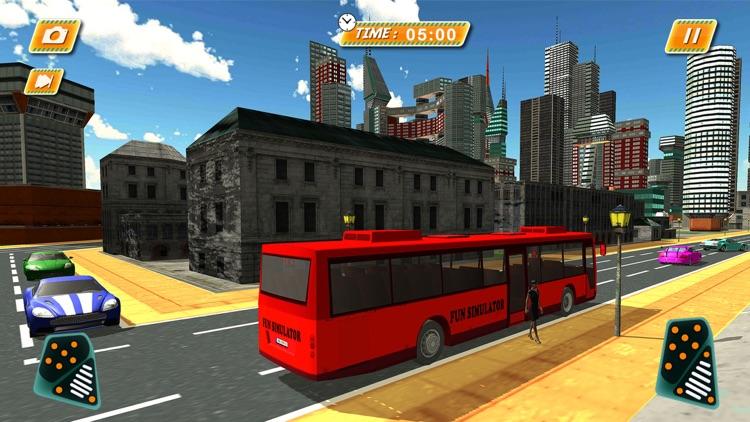 Euro City Coach Bus Driver 3d 2017 screenshot-4