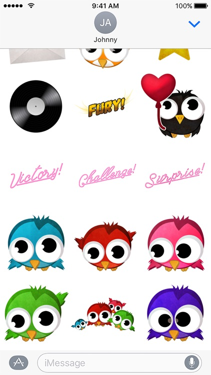 Birdy Party Stickers screenshot-3