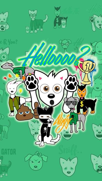 HiFive Dog Emojis