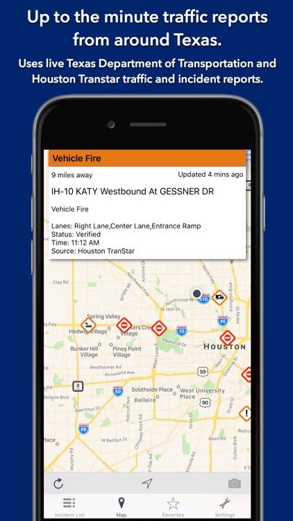 Texas State Roads screenshot-0