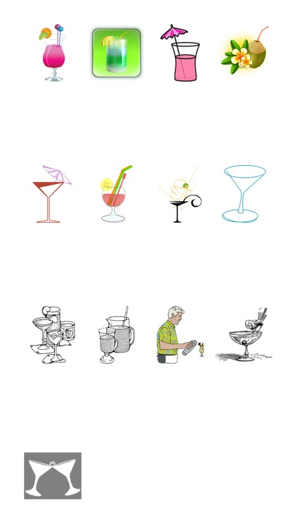 Cocktail Sticker Pack