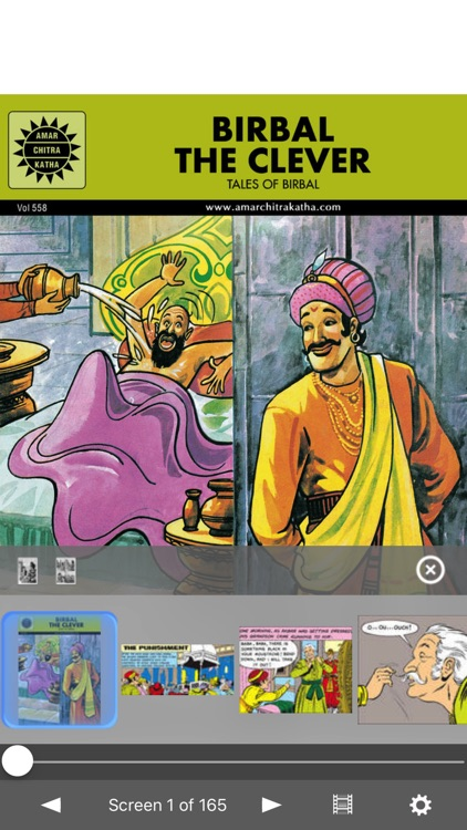 Birbal The Clever- Amar Chitra Katha screenshot-0