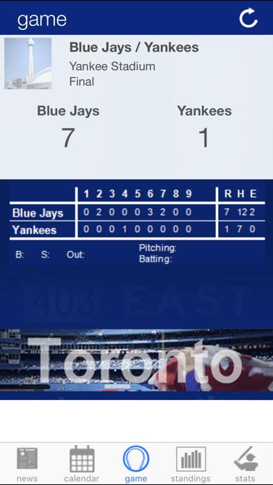 Toronto Baseball News screenshot two