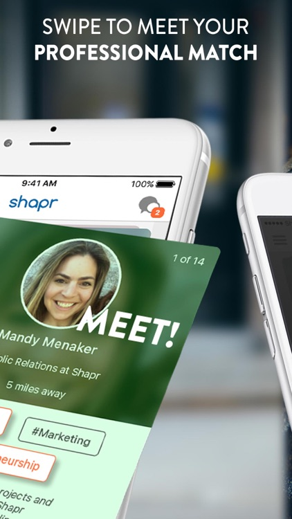 Shapr: Connect with people, meetups & networking