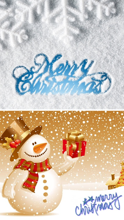 Christmas Countdown - Xmas Wallpapers & Greetings screenshot-2