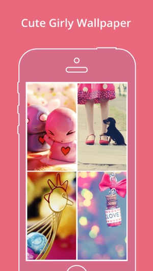 Cute Girly Wallpapers Pinky Backgrounds On The App Store