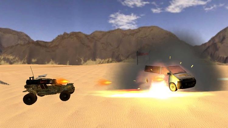 Armored Road Warrior Death Car Racing