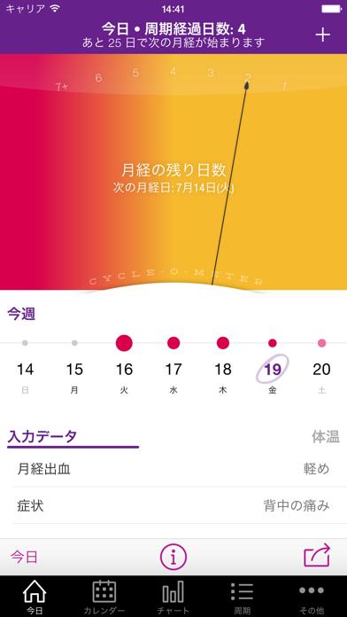 Sprout 排卵 & 月経トラッカー + screenshot1