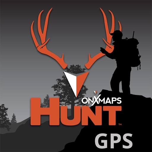 onX HUNT Hunting GPS Maps with Offline US Topo Map app logo