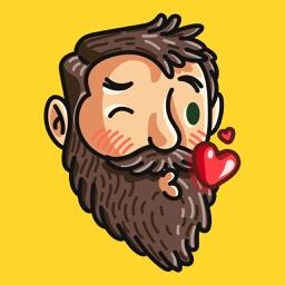 Beardmoji by Rudy