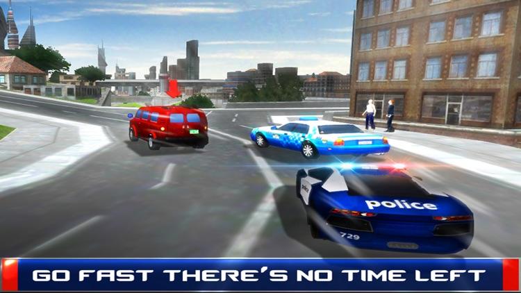 Police Car Driver - 3D Simulator