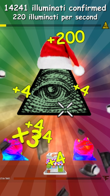 Meme Clicker - MLG Christmas - Online Game Hack and Cheat