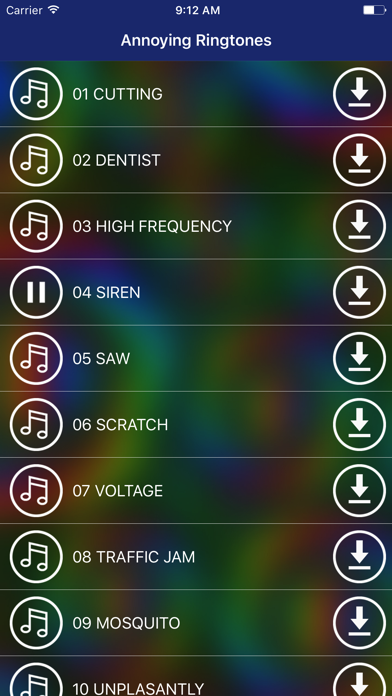 Annoying Sounds &  Ringtones screenshot two