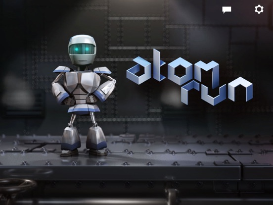 Screenshot #1 for Atom Run