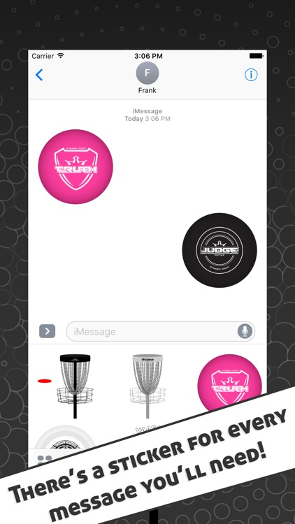 Disc Golf Stickers screenshot-3